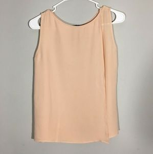 Theory Peach P/TP (Extra Small) Silk Top